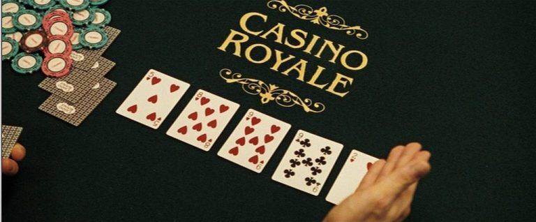 Casino Royale James Bond Playing Cards